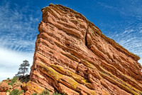 "Colorado, ""Red Rocks"", ""Red Rocks Park"", landscapes, red, rocks, sandstone, ""Ship Rock"""