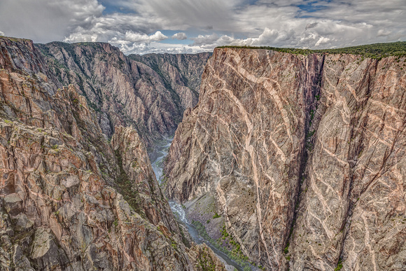 "Colorado, Gunnison, Montrose, ""CedarPoint"", ""Painted Wall"", ""Rim Rock Trail"", black, canyon, landscape, rock, scenic, ""south rim"""