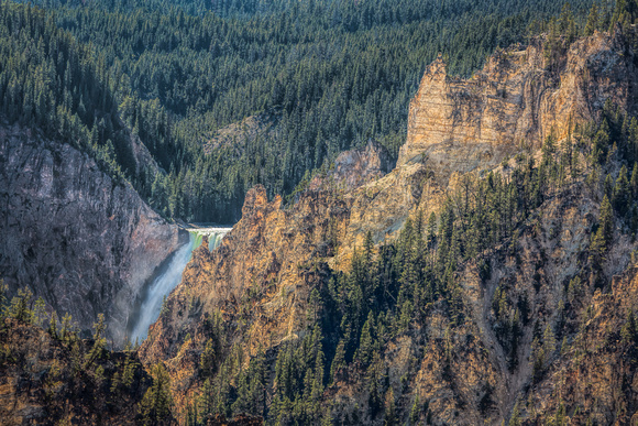 "Falls, ""Grand Canyon"", Yellowstone, ""Yellowstone Falls"", waterfall"